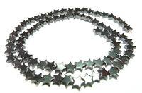 😏 Hämatit Perlen Sterne 6 mm Perlen Strang für Kette u.a. Schmuckherstellung 😉
