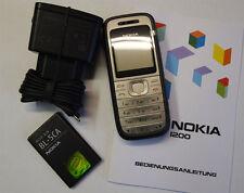 Nokia 1200 - Schwarz Handy ohne Simlock ohne Branding NEUWARE