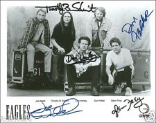 THE EAGLES Signed Photograph - Rock Band Legends - preprint