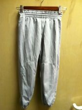 Base ball Baseball Pants Youth boys Grey Gray Large Polyester Pullup NEW