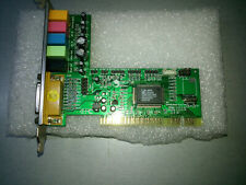 Tarjeta de sonido Simtech chip C-Media CMI8738-6CH 5.1 PCI  usada