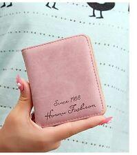 Leather Short Women Wallet Lady Purse