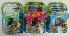 Amazing Bubbles Exstream Bubble Gun Lot of 3 Battery Outdoor Toy