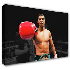 Anthony Joshua 'Aj' ~ Stretched Canvas Print Wall Art Photo Picture ~ 5 Sizes
