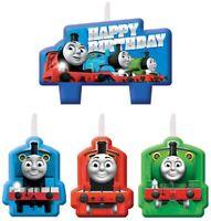 THOMAS the Tank & Friends Train Birthday Cake Candle set - 4pcs