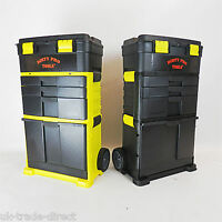 D Pro Tools Mobile Roller Tool Chest Trolley Cart Storage Tool Box Toolbox Wheel