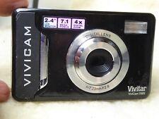 Vivitar ViviCam 7025 Black Digital Camera 7.1 MegaPixels fully working