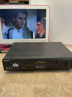 Sony SLV-779HF Hi-Fi Stereo 4 Head VHS VCR Recorder~No Remote~Tested Works Great