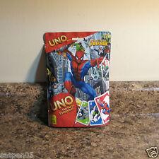 Marvel Spider-Man UNO Card Game NEW