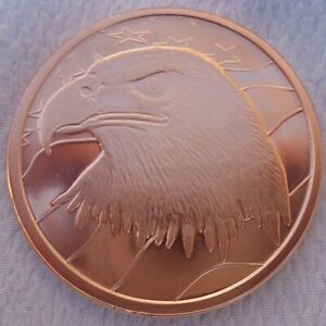 1 oz. American Eagle Commemorative .999 fine copper round