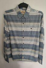 Hollister Blue Striped Shirt Medium