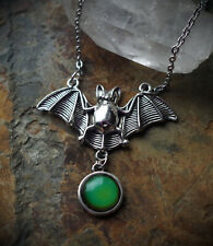 Feeling Batty Mood Color Change Necklace Pastel Goth/Occult/Witch/Gothic/Alt