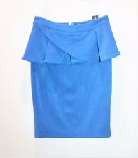 Sambara Brand Blue Peplum Skirt Size 8 BNWT #SG37
