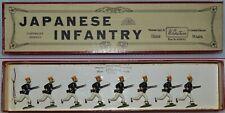 Britains Pre-War Set #134 Japanese Infantry (Dark Blue Tunics - RARE) *AA-10663*