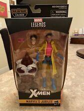 "Marvel Legends Jubilee 6"" action figure Caliban BAF series X-Men NIB"