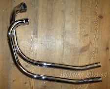 Norton Commando Krümmer 06-3375 06-3376 pair of pipes 750 850 ohne resonanzrohr