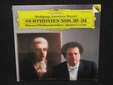JAMES LEVINE ~ Mozart Symphonies 29 & 34 (SEALED) ~ DGG DIGITAL - 1986 classical