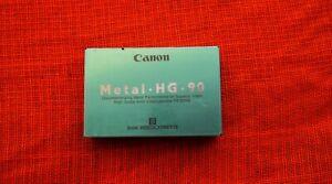 Rare Vintage CANON TAPE Metal HG 90 MIN 8mm 8 P5-90HG HIGH GRADE VIDEOCASSETTE