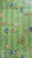 Osborne & Little Wind in the Willows Croquet Wallpaper 1 Roll Discontinued