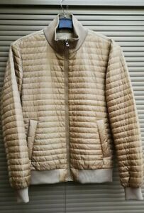 Mens Geox Respira Thermal Down Smart Golf Jacket UK 38 Medium Quality Brand!
