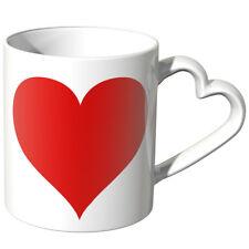"""JUNIWORDS Herz Tasse, """"Großes Herz"""" Geschenk Valentinstag Liebe Love Becher"""