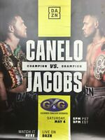 Boxing - 2019 Poster Canelo vs Jacobs