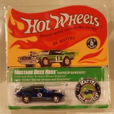 Boss Hoss Mustang Hot Wheels RLC Rewards 2017 Only 8000 Made BLUE VHTF!! IN HAND