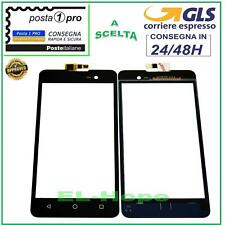 TOUCH SCREEN VETRO WIKO LENNY 2 II DIGITIZER VETRINO NERO 5.0''