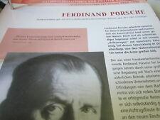 Deutsche Geschichte 1933-1945 Ferdinand Porsche Konstrukteur 1875-1951