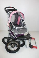 Haustier Buggy grau pink lila Hunde Tragetasche Trolley Trailer