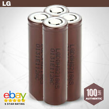 4 x LG HG2 INR 18650 Rechargeable High Drain Li-ion Battery 3000mAh Flat Top