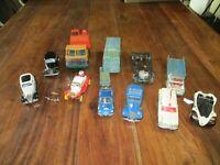 lot de voitures miniatures au 1/43 pour pièces différente marque