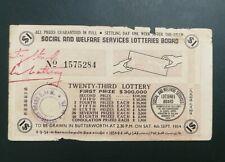 (RM) 1954  Twenty Third Lottery drawn in Butterworth