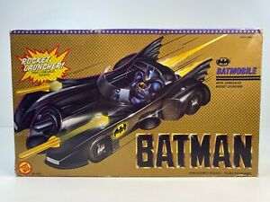 New 1989 Toy Biz Batman Rocket Launcher Batmobile Vintage Rare New In Box!!