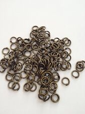 New! 1200 pcs Bronze Tone Open Jump Rings 5mm Jewelry Ring #24B Tool