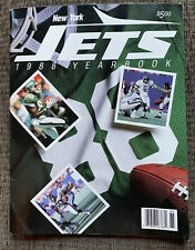 Vintage New York Jets NFL Football Official 1988 Yearbook