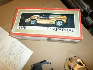 1966 Renwal Products Inc. The Golden Chaparral 1/24 Assembly Kit