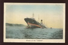 Japan USA Shipping Wreck disaster of the GNSC DAKOTA  c1907 u/b PPC