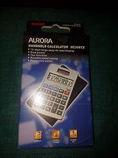 Aurora Pocket Wallet Case 12 Digit Calculator HC208TX Dual Solar Power Travel