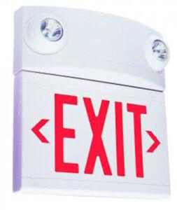 SEALED BOX Dual-Lite LTURW LT Series Tandem Emergency Exit Sign Liteforms