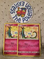 Pokémon TCG 2x Togepi #136/214 Unbroken Bonds Mint Fairy English New Common