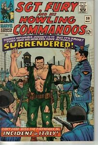 Marvel 1966 Sgt Fury and His Howling Commandos #30 W: Roy Thomas A: Dick Ayers