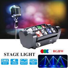 8x10W Mini LED Moving Head Light 8 Eyes Beam Spider-light DMX512 Disco Party KTV