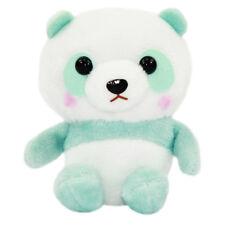 Panda Plush Doll Cute Stuffed Animal Amuse Bear Japanese Strap Keychain Green