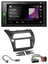 Pioneer 2DIN MP3 DAB USB Bluetooth Autoradio für Honda Civic (2006-2012)