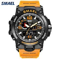 SMAEL Men Watch Digital Electronic LED Shockproof Fashion Sport Wrist Watches