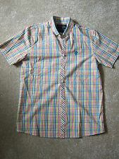 Next Boys' Casual Short Sleeve Sleeve Checked Shirts (2-16 Years)