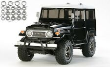 Tamiya Toyota Land Cruiser 40 Black Edition CC-01 + Kugellager-Set - 58564KU