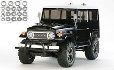 Tamiya Toyota Land Cruiser 40 Black Edition CC-01 + Kugellager-Set - 58564KU