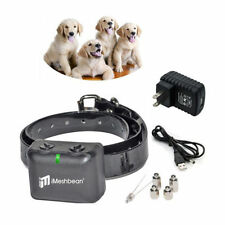 Waterproof&Rechargeable MEDIUM LARGE ANTI BARK NO BARKING DOG SHOCK COLLAR US
